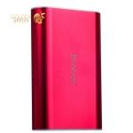 Внешний аккумулятор Yoobao Power Bank Master M3 (USB выход: 5V 2.1A) 7800 mAh, цвет красный