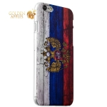 Чехол-накладка UV-print для iPhone 6s Plus / 6 Plus (5.5) пластик (гербы и флаги) Флаг России тип 001