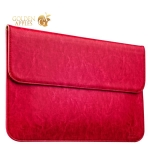 Защитный чехол-конверт для Apple MacBook Air 11 iCarer Genuine Leather Series, цвет розовый