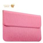 Защитный чехол-конверт для Apple MacBook Air 11 iCarer Genuine Leather Series, цвет светло-розовый
