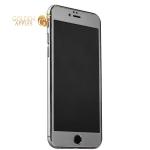 Пластиковый чехол-накладка для iPhone 6S Plus / 6 Plus iBacks Full Screen Tempered Glass, цвет серый