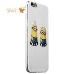Чехол-накладка UV-print для iPhone 6s Plus / 6 Plus (5.5) силикон (мультфильмы) Миньоны тип 003