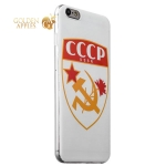 Чехол-накладка GA-Print для iPhone 6S Plus/ 6 Plus СССР вид 1