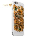 Чехол-накладка GA-Print для iPhone 6S / 6 Хохлома вид 4