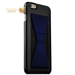 Накладка-подставка iBacks Bowknot Series PC Case для iPhone 6s Plus / 6 Plus (5.5) (60333) Black / Stripes