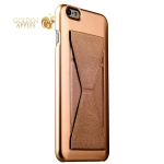 Накладка-подставка iBacks Bowknot Series PC Case для iPhone 6s Plus / 6 Plus (5.5) (60337) Champagne gold