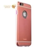 Накладка металлическая iBacks Ares Armour Aluminum Case для iPhone 6s Plus / 6 Plus (5.5) (ip60285) Rose Gold