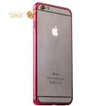 Бампер металлический iBacks Colorful Essence Aluminum Bumper для iPhone 6s Plus / 6 Plus (5.5) (ip60091) Red