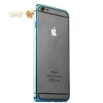 Бампер металлический iBacks Colorful Venezia Aluminum Bumper для iPhone 6s Plus / 6 Plus (5.5) - gold edge (ip60090) Blue