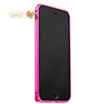 Бампер Fashion Case для iPhone 6S / 6 (4.7) металлический розовый