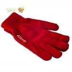 Перчатки iGlove для емкостных дисплеев Бордовые