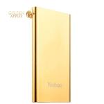 Внешний аккумулятор Yoobao Power bank Dual Inputs YB-PL5 (USB выход: 5V 2.1A) 5000 mAh Gold, цвет золотой