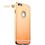 Накладка металлическая iBacks Ares Armour Aluminum Case для iPhone 6s Plus / 6 Plus (5.5) (ip60282) Champagne Gold
