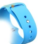 Спортивный ремешок для Apple Watch (38 mm) COTEetCI W3 Sport Band (CS2085-BL), цвет голубой