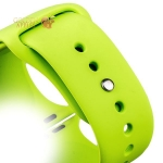 Спортивный ремешок для Apple Watch (38 mm) COTEetCI W3 Sport Band (CS2085-GR), цвет зеленый