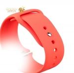 Спортивный ремешок для Apple Watch (38 mm) COTEetCI W3 Sport Band (CS2085-RD), цвет красный