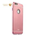 Накладка металлическая iBacks Ares Armour Aluminum Case для iPhone 6s Plus / 6 Plus (5.5) (ip60085) Pink