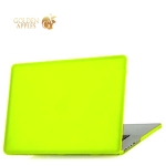 Чехол для Apple MacBook Retina 12 матовый, цвет желтый