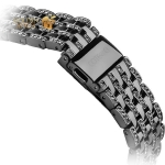 Ремешок со стразами из нержавеющей стали для Apple Watch (38 mm) COTEetCI W4 Magnificent Band (CS2087-BK), цвет черный