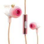 Вакуумные наушники вкладыши COTEetCI Earphone EH-02-CERAMICS CS3011-MRG, цвет розовое золото