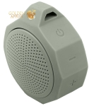 Портативная Bluetooth колонка COTEetCI SILICONE PORTABLE SPEAKER CS2305-GR, цвет серый