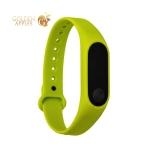 Сменный ремешок Xiaomi Mi Band 2 (гипоаллергенный силикон) Green Зеленый