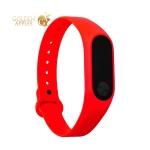Сменный ремешок Xiaomi Mi Band 2 (гипоаллергенный силикон) Red Красный