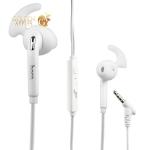 Наушники Hoco M6 Universal Sport Wire Earphone с микрофоном Белые