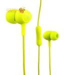 Вакуумные наушники вкладыши с микрофоном Hoco M3 Universal Earphone, цвет зеленый