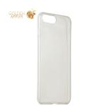Силиконовый чехол-накладка для iPhone 7 ICSES, цвет прозрачный