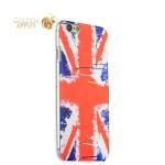 Чехол с рисунком для iPhone 6S / 6 GA-Print Британский флаг вид 28