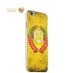 Чехол-накладка UV-print для iPhone 6S / 6 (4.7) пластик (арт) тип 14