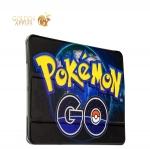 Чехол-книжка кожаный Birscon для iPad Air 2 Fashion series с рисунком UV-print (Pokemon GO) тип 01