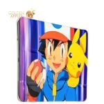 Чехол-книжка кожаный Birscon для iPad Air 2 Fashion series с рисунком UV-print (Pokemon GO) тип 09