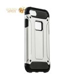 Противоударный чехол-накладка для iPhone 8 Amazing design, цвет серебристый