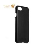 Чехол-накладка кожаный Valenta (C-1221) для iPhone SE (2020г.) Back Cover Classic Style черный