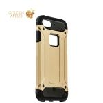 Противоударный чехол-накладка для iPhone 8 Amazing design, цвет золотистый