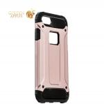 Противоударный чехол-накладка для iPhone 8 Amazing design, цвет розовое золото