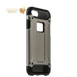 Противоударный чехол-накладка для iPhone 8 Amazing design, цвет графитовый