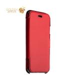 Кожаный чехол-книжка для iPhone 6S / 6 Valenta Booklet Classic Style, цвет красный