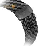 Ремешок из нержавеющей стали для Apple Watch (38 mm) COTEetCI W6 MAGNET Band (WH5202-GC), цвет графитовый