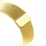 Ремешок из нержавеющей стали для Apple Watch (38 mm) COTEetCI W6 MAGNET Band (WH5202-GD), цвет золотистый