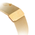 Ремешок из нержавеющей стали для Apple Watch (38 mm) COTEetCI W6 MAGNET Band (WH5202-MRG), цвет розовое-золото