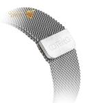 Ремешок из нержавеющей стали для Apple Watch (44 mm) COTEetCI W6 MAGNET Band (WH5203-TS), цвет серебристый