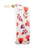 Силиконовый чехол-накладка для iPhone 8 Beckberg Exotic series со стразами Swarovski вид 14
