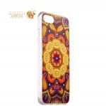 Силиконовый чехол-накладка для iPhone 7 Beckberg Exotic series со стразами Swarovski вид 16