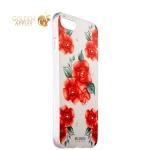Накладка силиконовая Beckberg Exotic series для iPhone SE (2020г.) со стразами Swarovski вид 17
