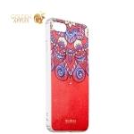 Силиконовый чехол-накладка для iPhone 7 Beckberg Golden Faith series со стразами Swarovski вид 12