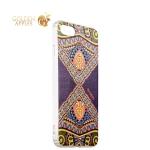 Силиконовый чехол-накладка для iPhone 8 Beckberg Golden Faith series со стразами Swarovski вид 13