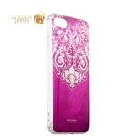 Силиконовый чехол-накладка для iPhone 7 Beckberg Golden Faith series со стразами Swarovski вид 14